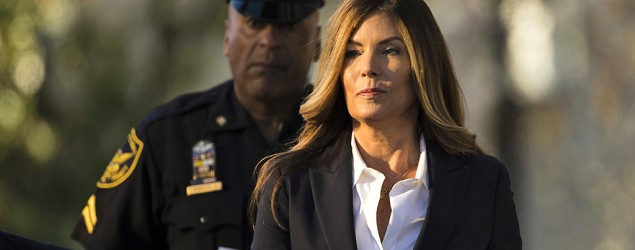 Former Pennsylvania Attorney General Kathleen Kane arrives at the Montgomery County courthouse in Norristown, Pa. (Matt Rourke/AP)