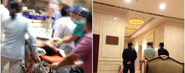 杭州裸女中多刀倒臥公寓升降機