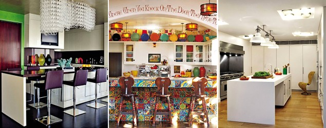 Where the stars cook: Inside celebrity kitchens