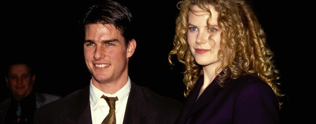Tom Cruise and Nicole Kidman in Los Angeles in 1992. (Vinnie Zuffante/Archive Photos)