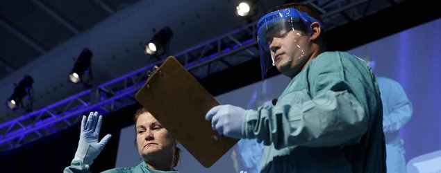 Funding to tackle Ebola in U.S. falls short. (AP)