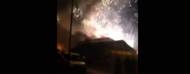 Fireworks factory goes up in smoke