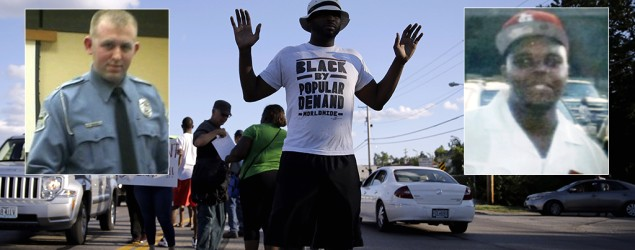 Ferguson officer not charged in Brown case. (AP)