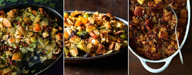 14 stuffing recipes cooked outside the bird