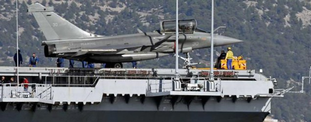 French jets strike ISIS as Britain offers support