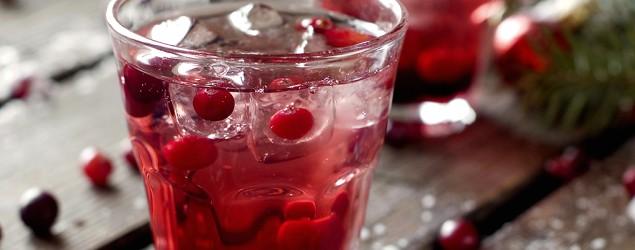 Cranberry cream soda: Festive, no-booze sipper