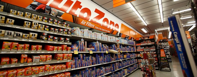 Inside of an AutoZone store. (Corbis)