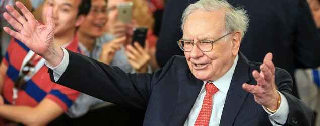 What Warren Buffett is most optimistic about. (AP)