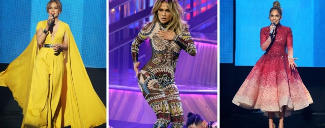 11 glam looks of Jennifer Lopez for the AMAs