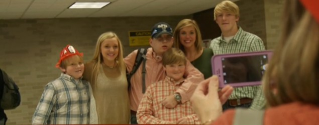 Man with face transplant smiles again (ABC)