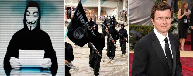 Anonymous, ISIS and Rick Astley