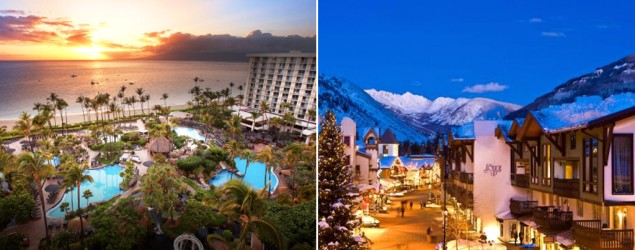 The Westin Maui Resort & Spa (The Westin Maui); The Lodge at Vail (The Lodge at Vail)