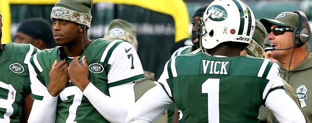Jets bench Vick after monumental struggles