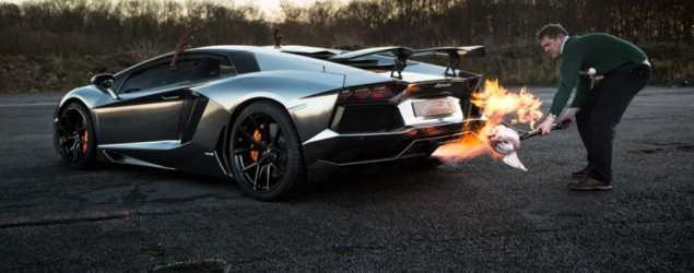 How to cook your turkey with a $490K Lamborghini. (