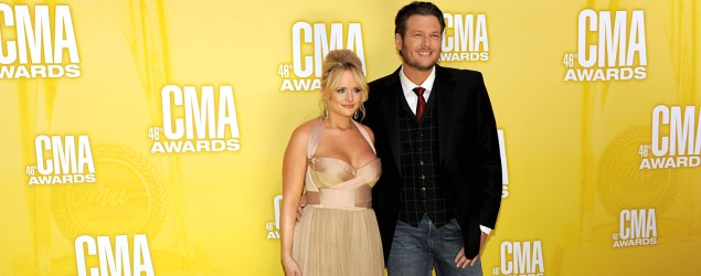 Miranda Lambert and Blake Shelton (AP Images)