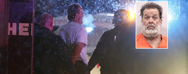 Robert L. Dear has been identified by police as the alleged gunman in a Colorado Springs shooting. (Isaiah J. Downing/Reuters; Colorado Springs Police Department/Reuters)