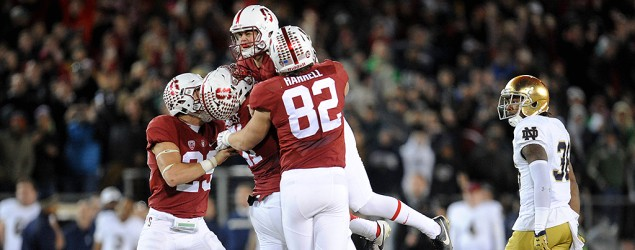Stanford's late field goal stuns Notre Dame