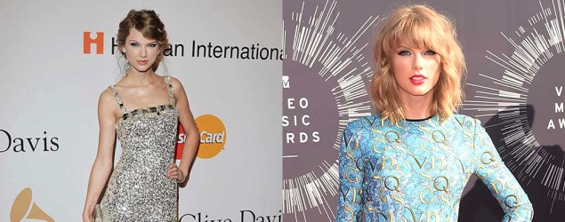 A quick look at Taylor Swift's beauty evolution over the years