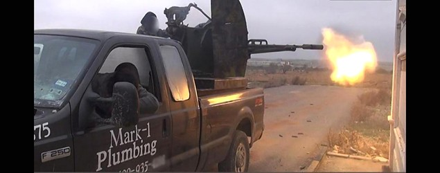 A Texas plumber's truck that was traded in has now been seen in photos on a terrorist Twitter feed. (Boldride)