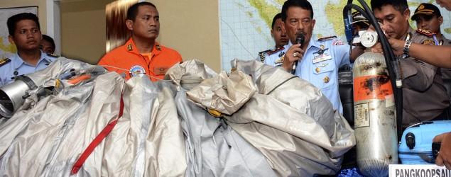 Sonar locates wreckage of AirAsia jet (AP)