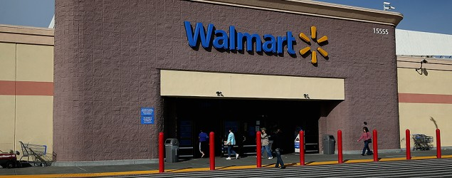 A Walmart store (Getty Images)