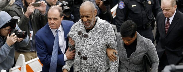 Bill Cosby arraigned. (AP Images)