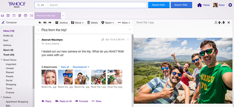 Yahoo mail free email with 1000 gb of storage stopboris Gallery