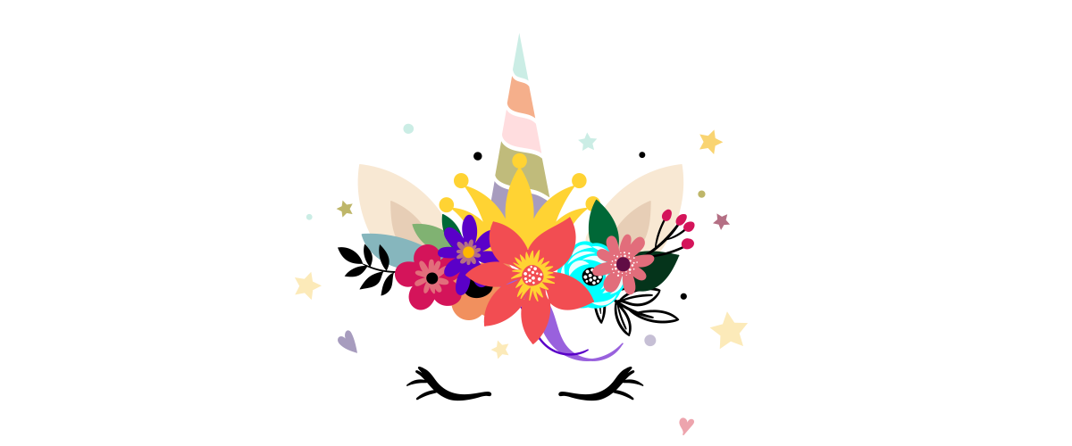 Flower Unicorn Birthday