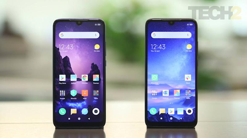 Xiaomi Redmi Y3, Redmi 7 launched in India, pricing starts at Rs 9,990, Rs 7,999 respectively