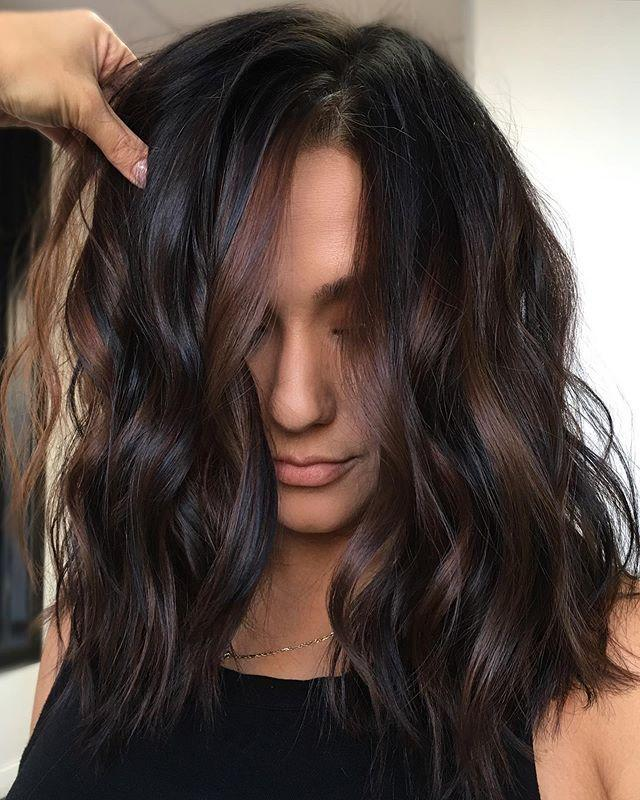 """<p>Highlights in a <em>slightly</em> different tone help add dimension but blend in so well that they don't require major upkeep.</p><p><a href=""""https://www.instagram.com/p/B7TmbIlFdRx/?utm_source=ig_embed&utm_campaign=loading"""" rel=""""nofollow noopener"""" target=""""_blank"""" data-ylk=""""slk:See the original post on Instagram"""" class=""""link rapid-noclick-resp"""">See the original post on Instagram</a></p>"""