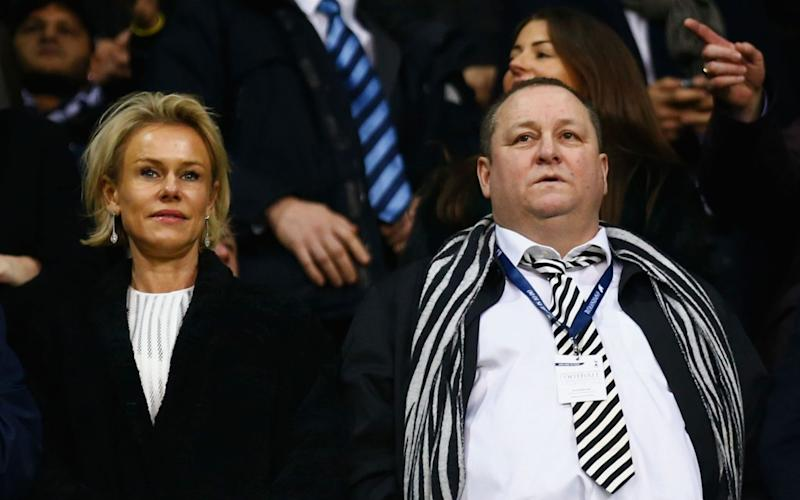 Mike Ashley is in talks to sell Newcastle - Getty Images Europe