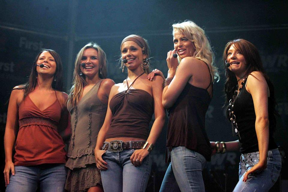"""<p>The definition of guilty pleasure, this frothy girl group was created in 2002 from contestants on the iTV show <em>Popstars: The Rivals</em>. The English-Irish group produced hits in the UK with """"Sound of the Underground,"""" """"The Promise,"""" and """"Love Machine."""" Singer Cheryl Coles went on to a solo career and had some big UK hits, judged <em>The X Factor</em> and had a son with One Direction singer Liam Payne.</p>"""
