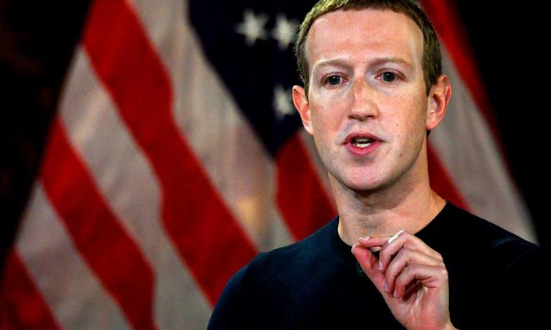 Mark Zuckerberg defended Facebook's record on political speech in an address at Georgetown University last week.