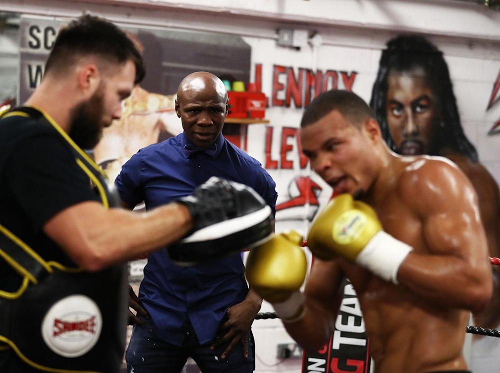 Chris Eubank Jnr has the chance to follow in his father's footsteps this weekend: Getty