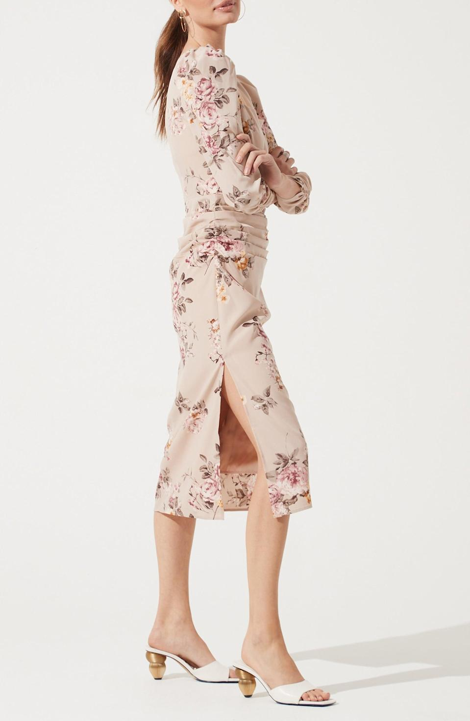 <p>This <span>ASTR the Label Floral Print Long Sleeve Dress</span> ($89) oozes femininity and confidence.</p>