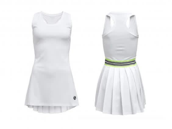 Get into the spirit of Wimbledon with an all-white tennis outfit (Tennis Point)