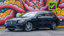 """<p>The E450 Wagon isn't quite as rare as its E63 counterpart, but it's still far from a common sight on American roads. That's a shame, because this is a classy take on the <a href=""""https://www.motor1.com/mercedes-benz/e-class-sedan/"""" rel=""""nofollow noopener"""" target=""""_blank"""" data-ylk=""""slk:standard E-Class"""" class=""""link rapid-noclick-resp"""">standard E-Class</a> sedan's clean, conservative lines.</p> <p>The long roof design gives the car more balanced proportions than the sedan's three-box design. The taillight treatment, reminiscent of the <a href=""""https://www.motor1.com/mercedes-benz/glc-class/"""" rel=""""nofollow noopener"""" target=""""_blank"""" data-ylk=""""slk:GLC-Class crossover"""" class=""""link rapid-noclick-resp"""">GLC-Class crossover</a>, works better too. In general, this is just a very handsome, understated car.</p><ul><li><a href=""""https://www.motor1.com/reviews/308487/2018-mercedes-amg-e63s-wagon-review/?utm_campaign=yahoo-feed"""" rel=""""nofollow noopener"""" target=""""_blank"""" data-ylk=""""slk:2018 Mercedes-AMG E63S Wagon Review: Do It All"""" class=""""link rapid-noclick-resp"""">2018 Mercedes-AMG E63S Wagon Review: Do It All</a></li><br></ul>"""