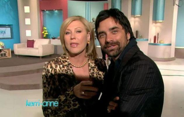 The American actor appeared on KAK's live morning show in 2007. Source: Channel Nine
