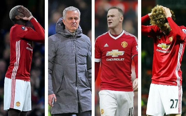 Things are not quite going Manchester United's way this season