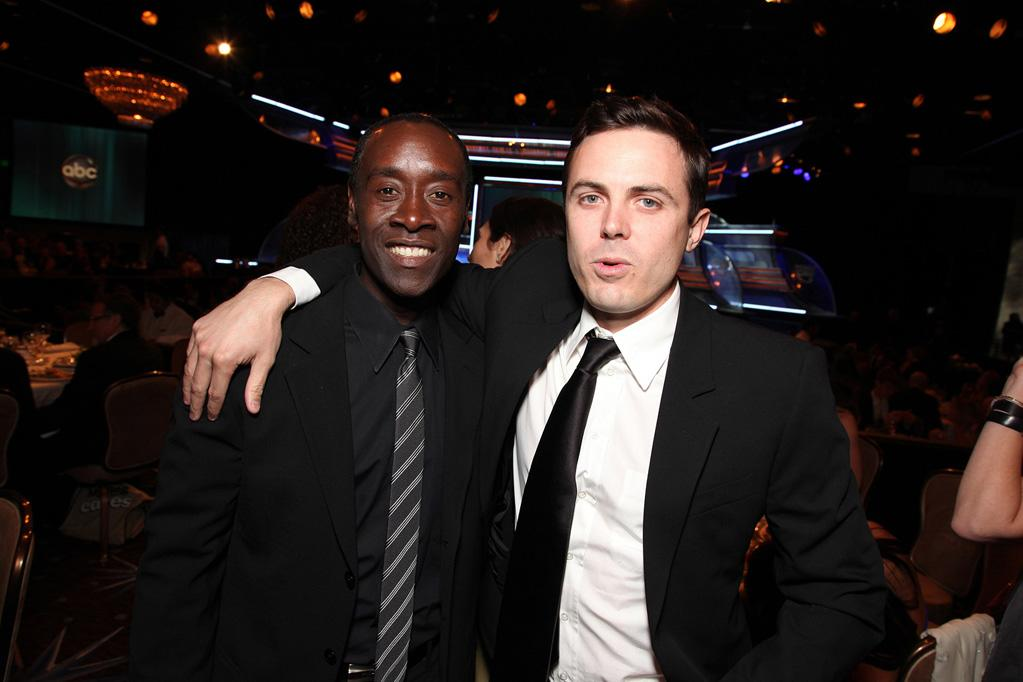 "<a href=""http://movies.yahoo.com/movie/contributor/1800020725"">Don Cheadle</a> and <a href=""http://movies.yahoo.com/movie/contributor/1800018566"">Casey Affleck</a> at the 24th American Cinematheque Annual Gala Honoring Matt Damon on March 27, 2010."