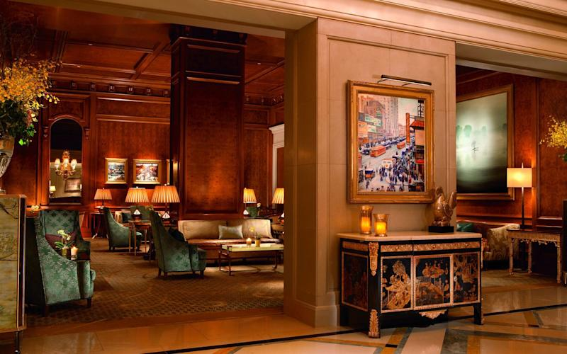 Ritz-Carlton's New York flagship is an elegant oasis on the south side of Central Park.