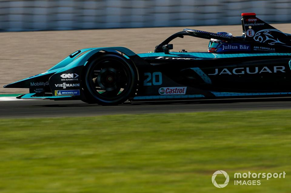"Mitch Evans, Panasonic Jaguar Racing, Jaguar I-Type 5<span class=""copyright"">Andrew Ferraro / Motorsport Images</span>"