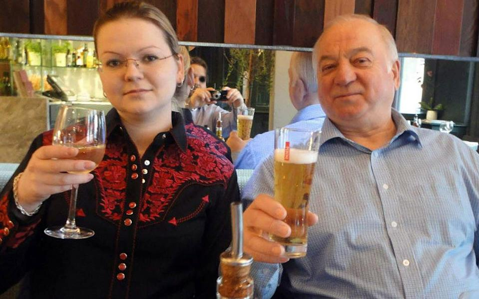 Yulia and Sergei Skripal were poisoned in Salisbury in March. (PA)