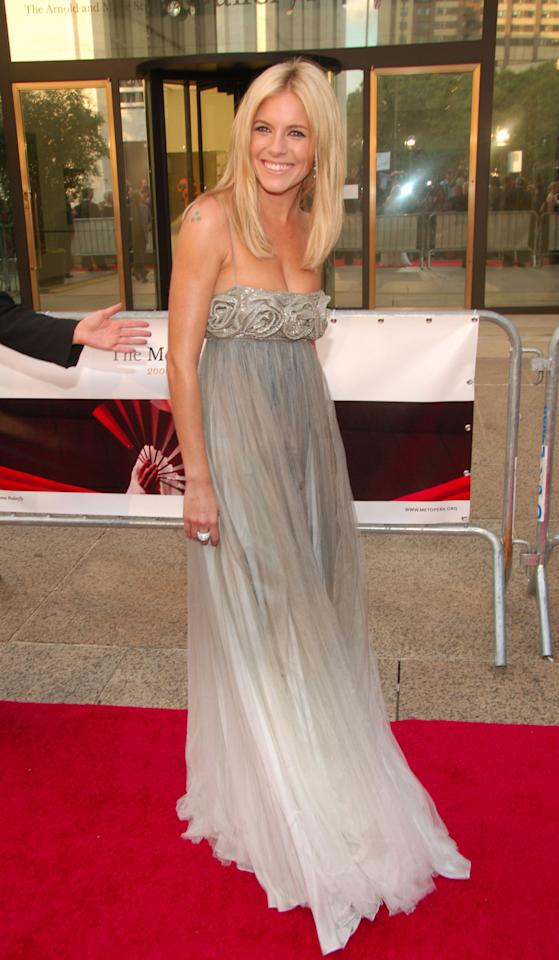 <p>Miller's always had killer style, but since hooking up with Young (<i>Vogue</i>'s Anna Wintour paired the two for Miller's comeback tour following roles in <i>American Sniper</i> and <i>Foxcatcher)</i>, she's gone from boho chic tosleek. Where she favored vintage, and brands like Matthew Williamson, she now hits the talk show circuit in Celine and Altuzarra, and chooses Buberry, Chanel, and McQueen for red carpets.</p><p><i>Photo: Getty Images</i></p>