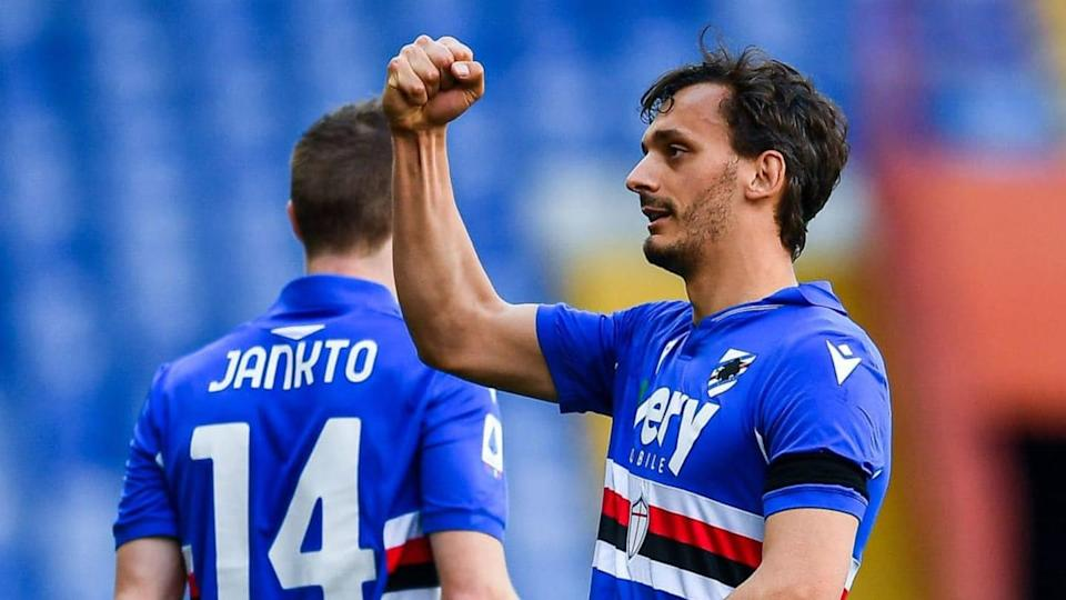 Gabbiadini, attaccante della Sampdoria | Getty Images/Getty Images