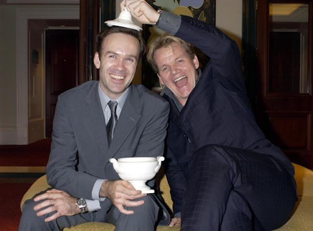 Marcus Wareing was a protege of 'Hell's Kitchen' star Gordon Ramsay (Credit: Getty Images)