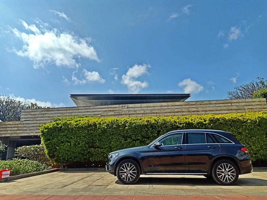 The driving experience is where the GLC shines. It gets a BS6 petrol and diesel with a 9-speed automatic as standard. We drove the diesel and (we kid you not) it's the most refined car we have ever driven. In the city the engine is eerily silent and you actually mistake it for a petrol.