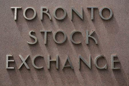 The Toronto Stock Exchange sign is seen in Toronto, Ontario, Canada July 6, 2017. REUTERS/Chris Helgren