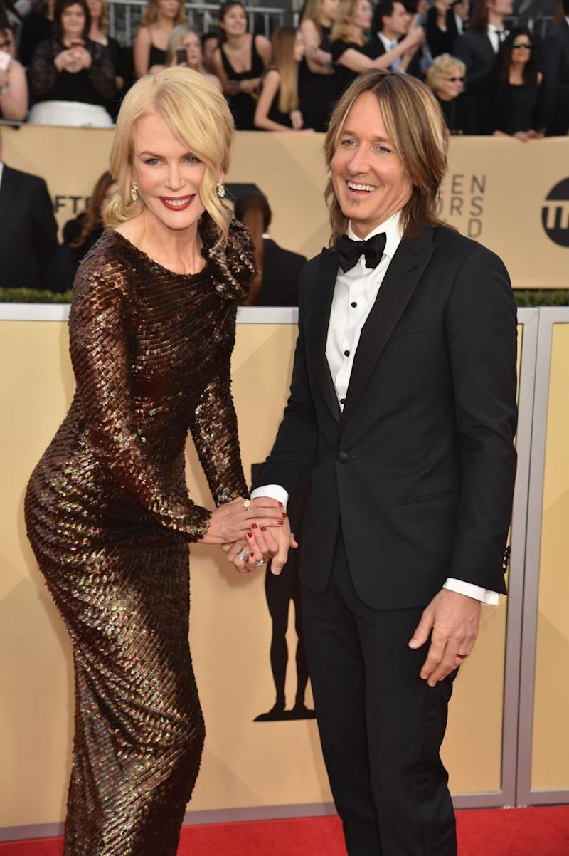Most recently, the pair attended the SAG Awards together in January looking blissfully happy, but at the Oscars in March Nicole, 50, attended without her husband. Source: Getty