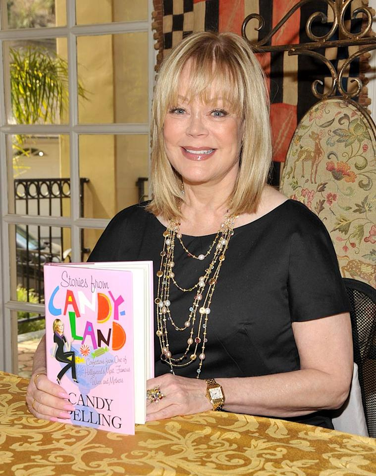 "Candy Spelling knows how to give a headline-grabbing interview. She recently raised eyebrows when she accused daughter Tori of using her children as ""reality show props."" Now it looks like Candy's gonna have a show of her own -- although it'll be scripted. So what's it about? ""I can't talk about it,"" she told RadarOnline.com. Dr. Billy Ingram/<a href=""http://www.wireimage.com"" target=""new"">WireImage.com</a> - August 22, 2009"